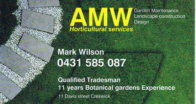 AMW Horticultural Services