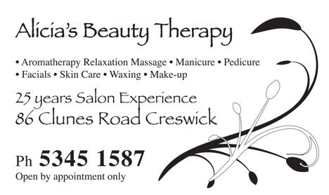 Alicia+39s Beauty Therapy