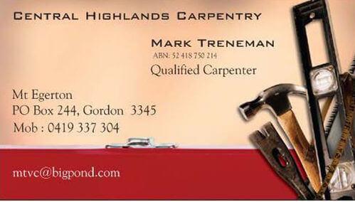 Central Highlands Carpentry