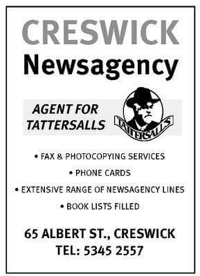 Creswick Newsagency + Lotto