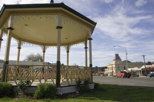 Bandstand + Town Hall