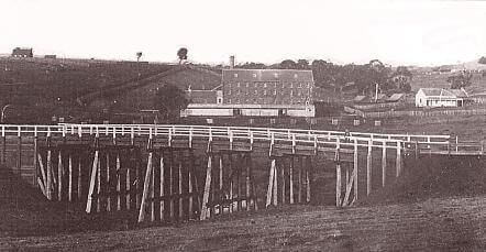 Andersons millandbridge -  historic image