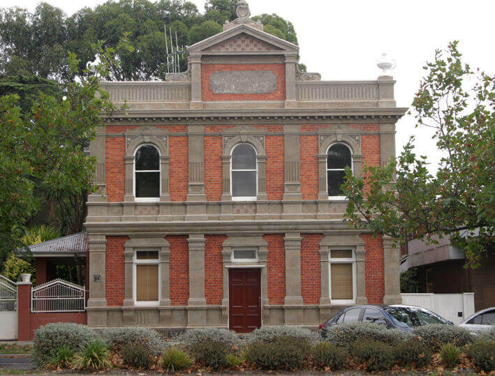Former State Bank - School of Mines - Creswick