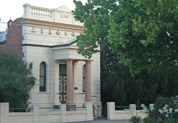 Freemasons Creswick Masonic Lodge Historic Building 3134