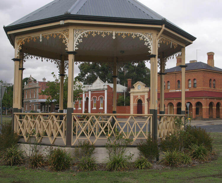 Queen Victoria Bandstand Rotunda