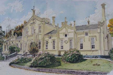 former Creswick Hospital circa 1860
