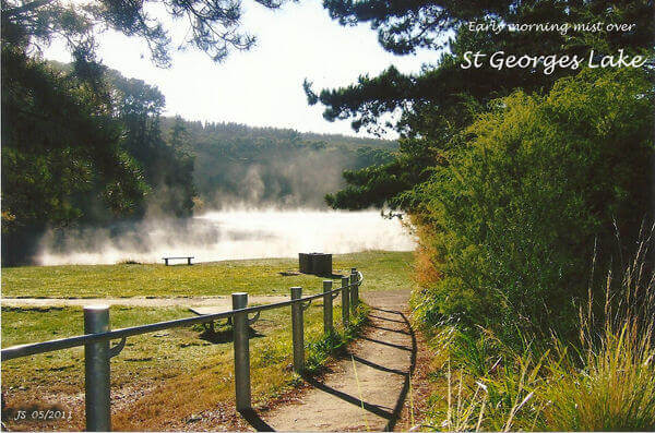 Mist over St Georges Lake 052011 600xdpi