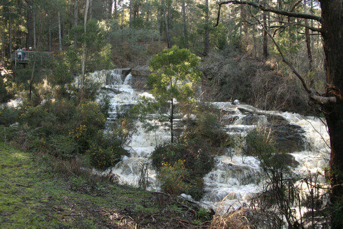 St Georges Lake Waterfall