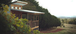 Captains Creek Winery cellar door-near Creswick