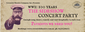 WW1 The Sideshow Concert Party