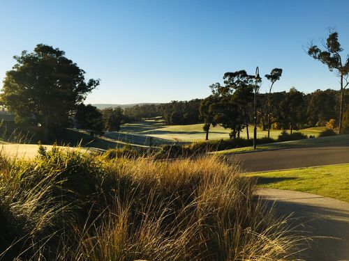 RACV Golf Course 1st Hole