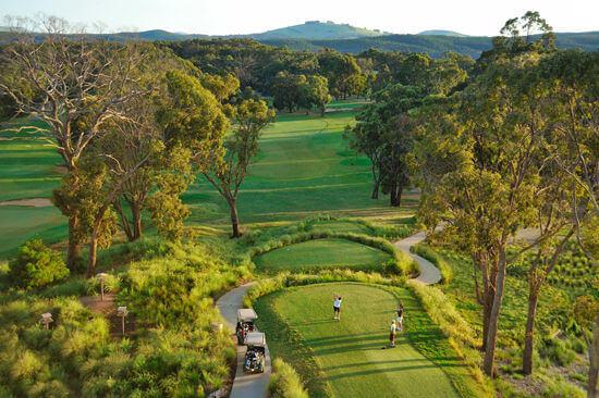 RACV Golf Course Aerial