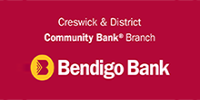 Bendigo Community Bank - Creswick & District Branch.