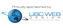 Proudly sponsored by UBC Web Design